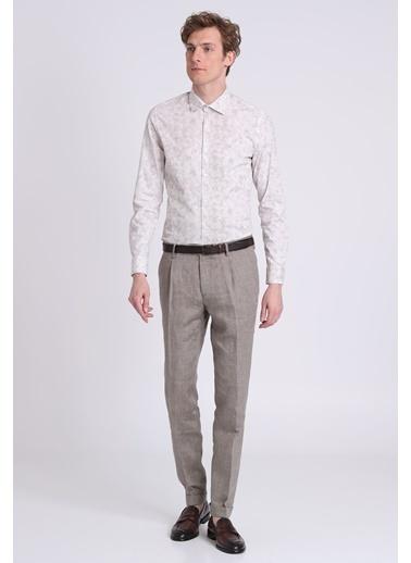 Slim Fit Uzun Kollu Gömlek-Lufian